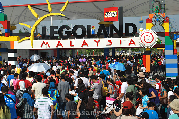 Malaysia Legoland Opening Pictures
