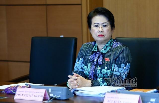 Tổng Thư ký Quốc hội: Đơn xin thôi ĐBQH của bà Phan Thị Mỹ Thanh sẽ được xem xét đúng luật định