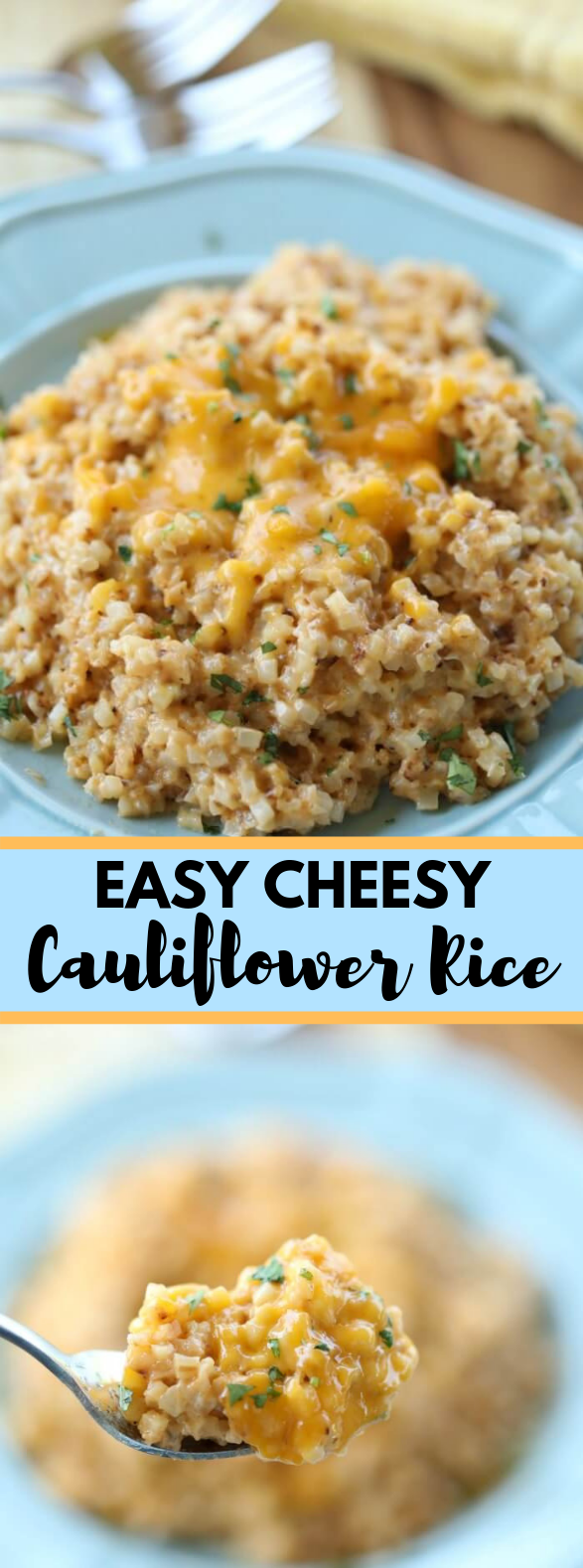 EASY CHEESY CAULIFLOWER RICE RECIPE #ketorecipe #easy