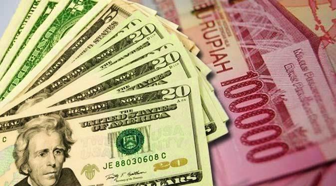 dolar dan rupiah