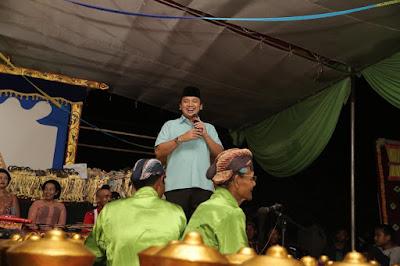 Warga Padang Ratu Lampung Tengah Dukung Pembangunan Ridho-Bachtiar