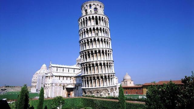 Torre de Pisa na Toscana