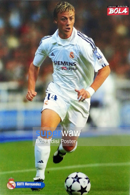 Poster Guti Hernandez (Real Madrid)