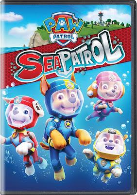 Paw Patrol Sea Patrol 2018 DVD R1 NTSC Latino