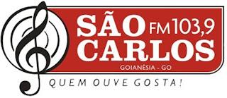 Rádio São Carlos FM de Goianésia ao vivo