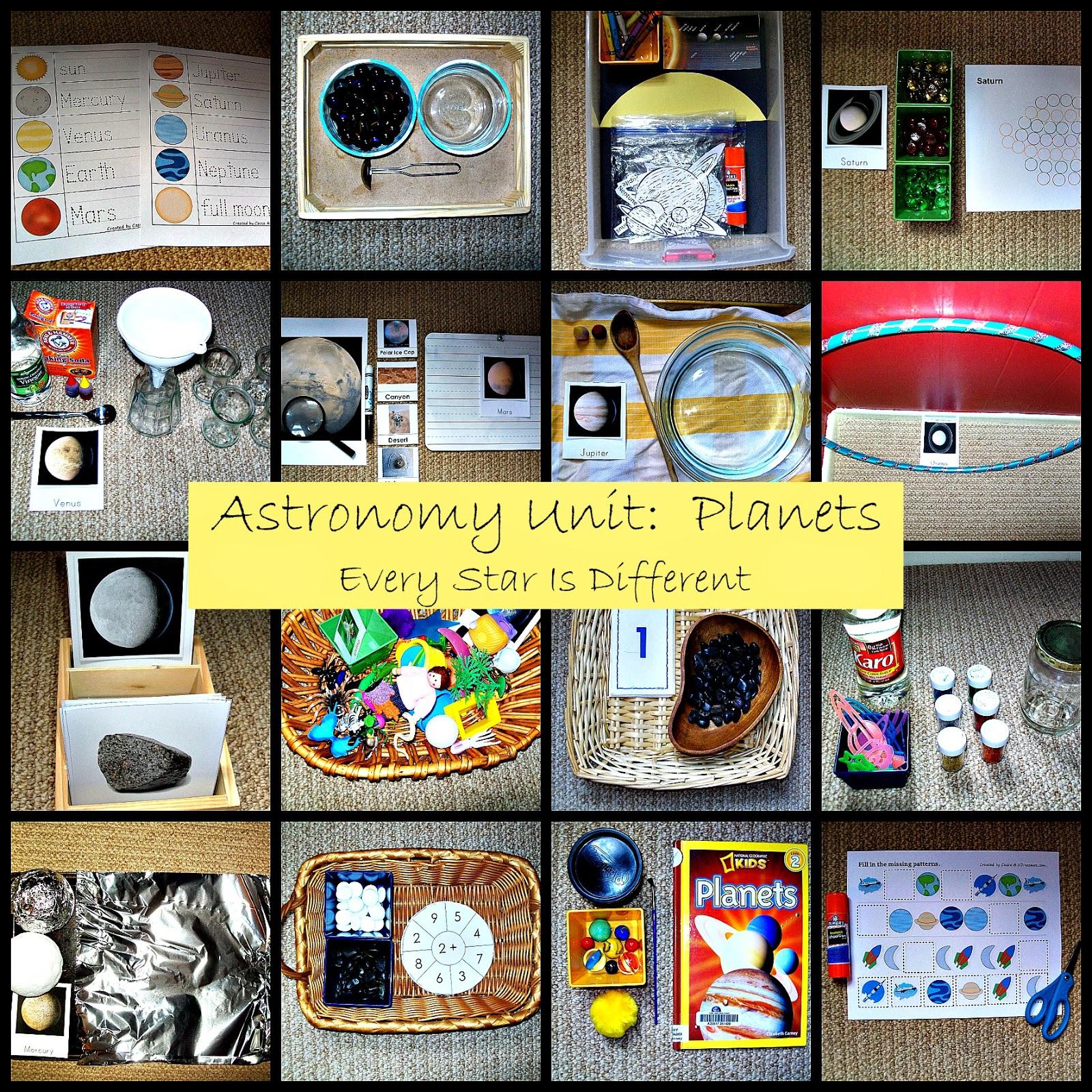 Astronomy Unit: Planets