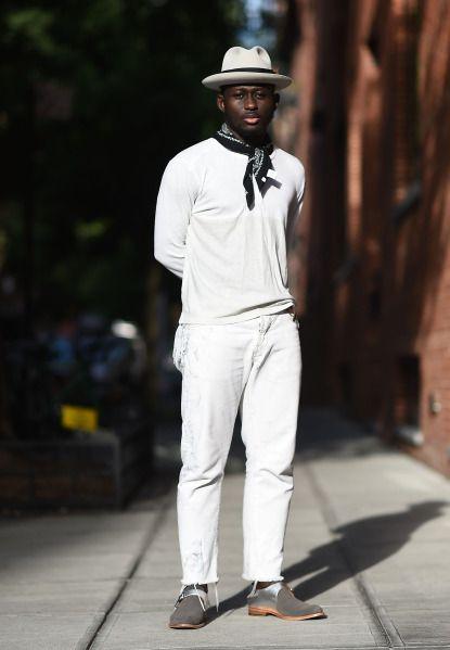 Moda Para Homem Negro Look all White