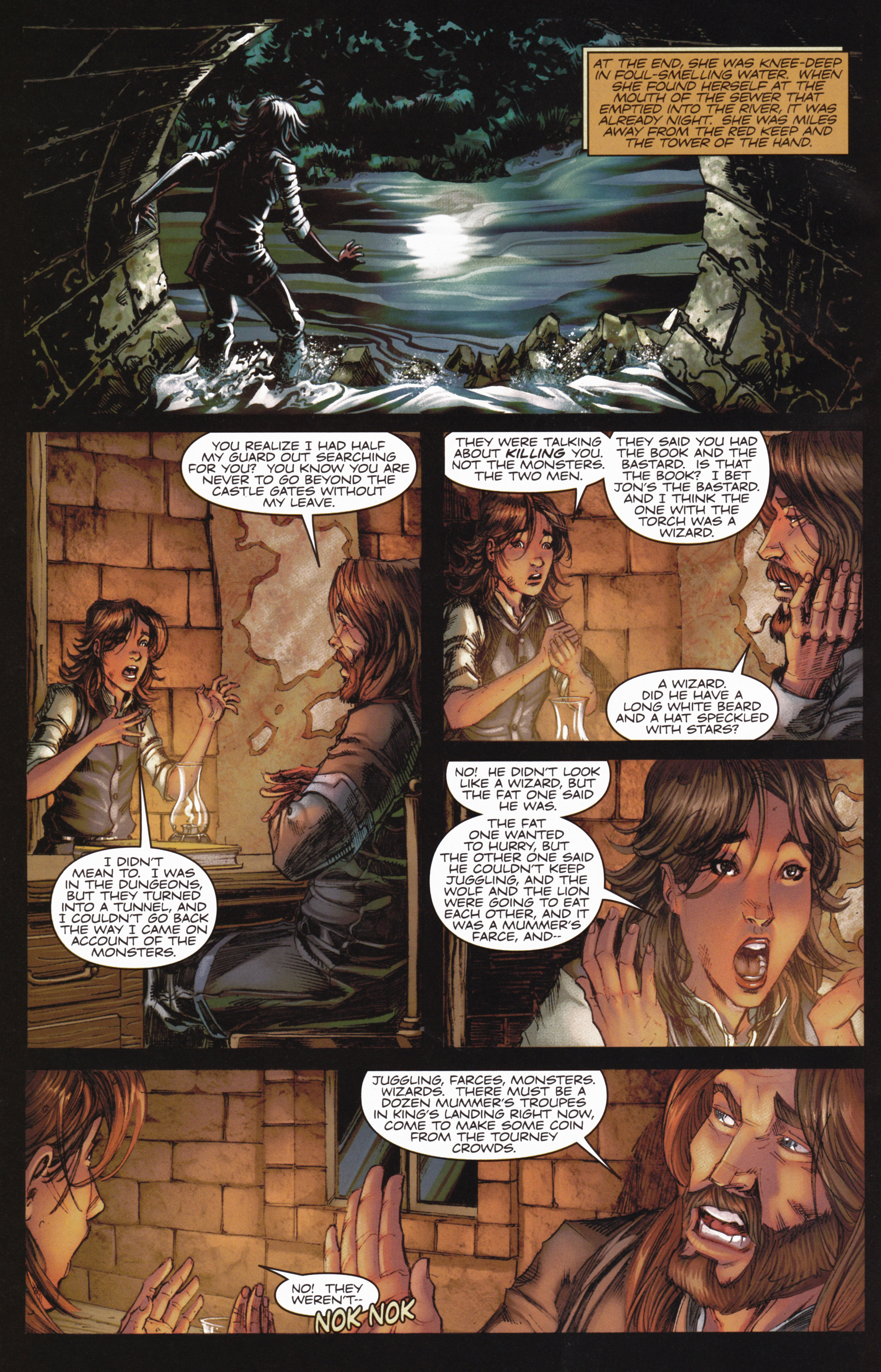Read online A Game Of Thrones comic -  Issue #10 - 22