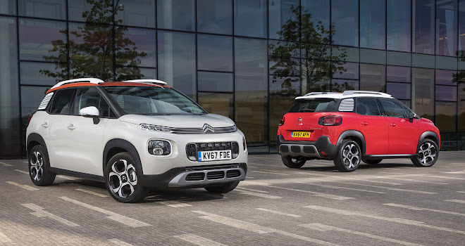 Citroen C3 Aircross front and back