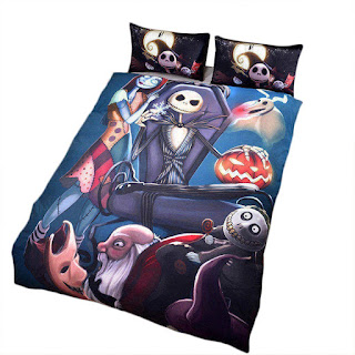 tim burtons the nightmare before christmas themed bedroom decor ideas - Nightmare Before Christmas Bedroom Decor