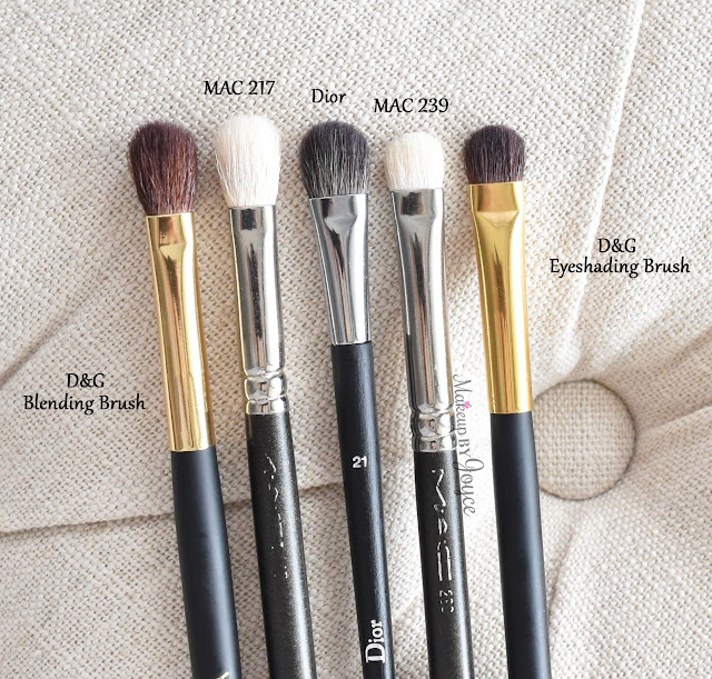 Dior Professional Finish Backstage Medium Eyeshadow Brush Review MAC 239