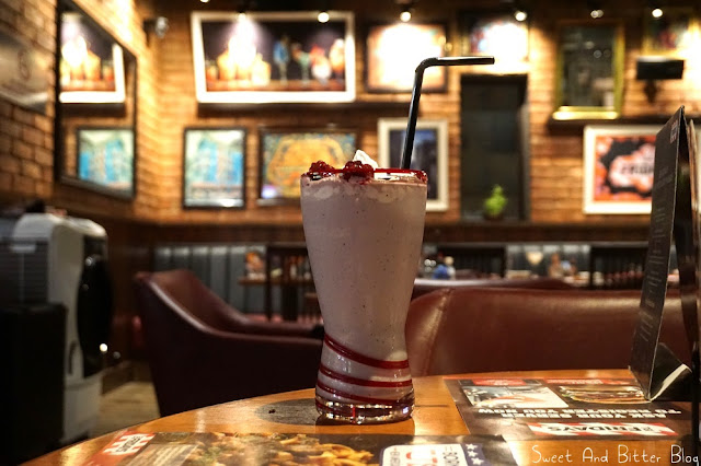 Blueberry Cheesecake Shake at TGI Friday's