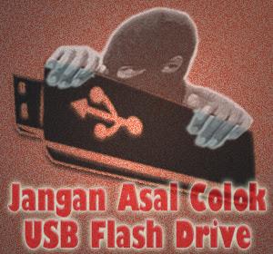 Hindari Pencurian Data, Jangan Asal Colok USB Flash Drive