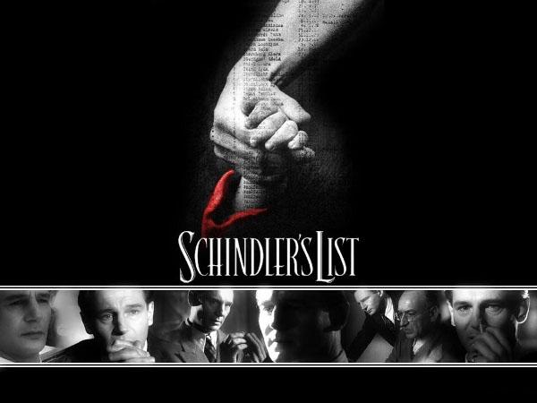 La lista de schindler abrigo rojo