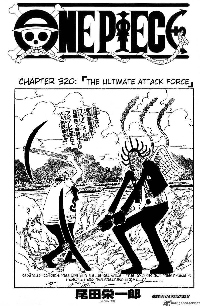 One Piece Ch 320