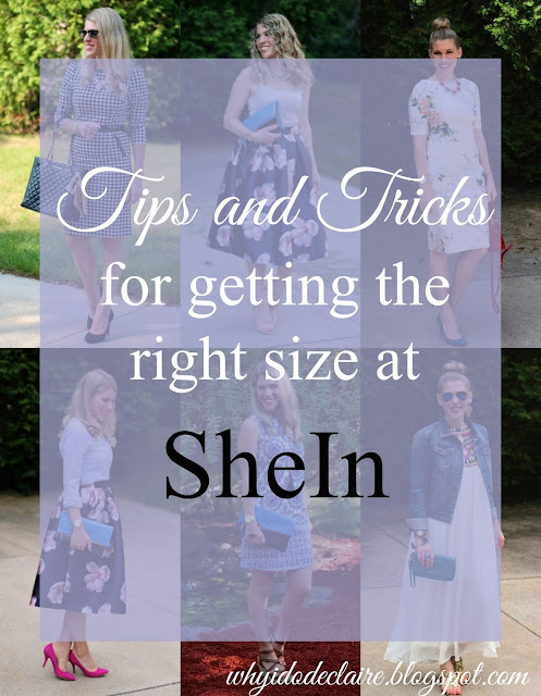 tips for how to find the right size at SheIn