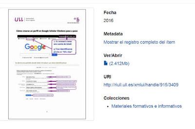 Perfil Google Scholar