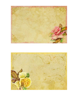 background digital rose collage scrapbooking crafting image