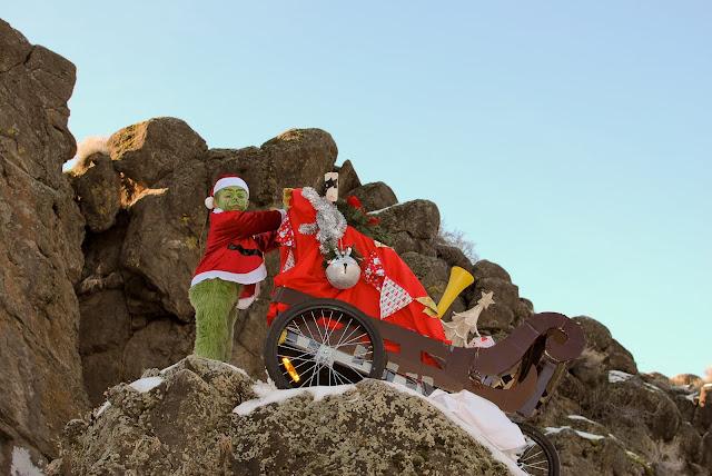 Image result for big engine on Grinch sled