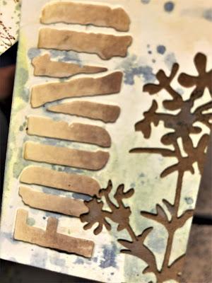 Sara Emily Barker http://sarascloset1.blogspot.com/ Field Notes Mini Album 3D Texture Fade Lumber 14