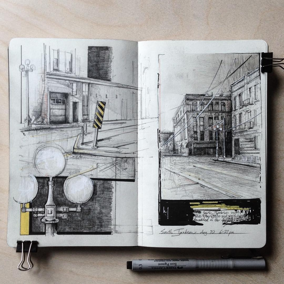 10-Shortest-day-of-the-year-Jerome-Tryon-Observations-and-Ideas-in-Moleskine-Drawings-www-designstack-co