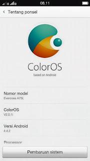 [CUSTOM ROM] ColorOs v2.0.1i for Evercoss A75L
