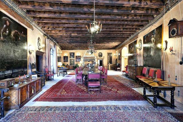 Uma família durante quase sete séculos forjou a alma do castelo.