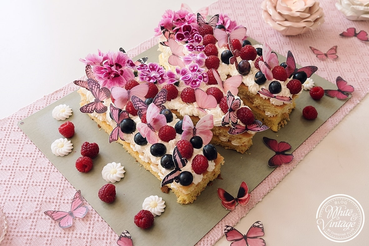 Lettercake selber backen