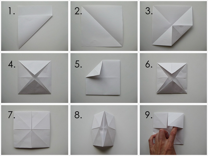 My Handmade Home Tutorial Origami Fortune Teller