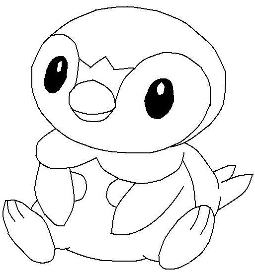 Pororo, The Little Penguin Coloring Pages
