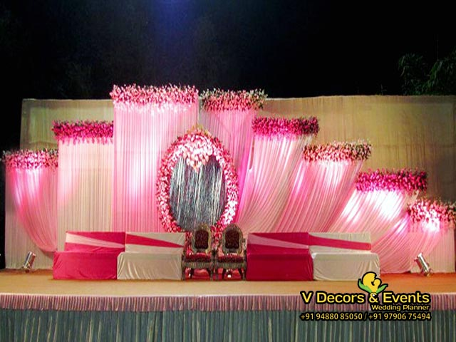 Wedding Decorators Reception Stage Decorations In Pondicherry