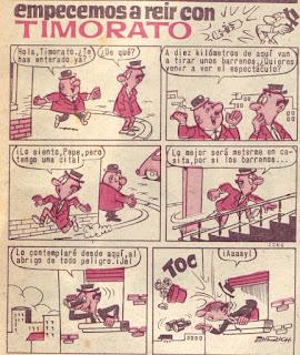 Empezemos a reir con Timorato, Pulgarcito nº 1758