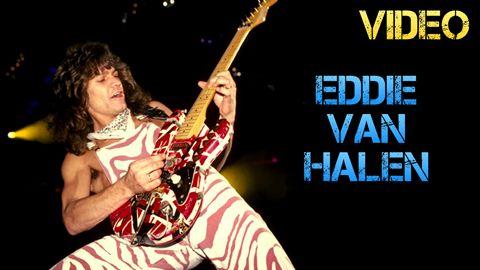 Vídeo Biografía Eddie Van Halen