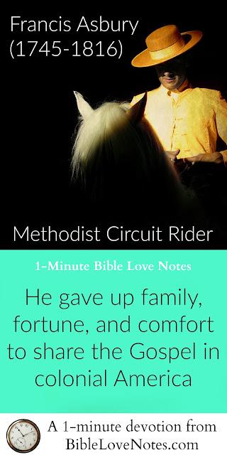 Francis Asbury, Methodism, Circuit Riders, Christianity, American colonies