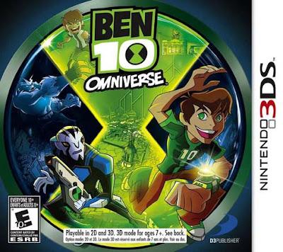 Ben 10 Omniverse Decrypted 3DS USA