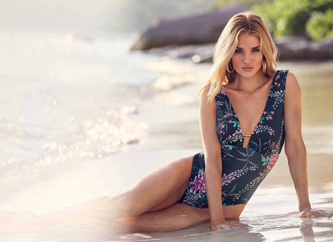Rosie Huntington Whiteley's new Marks & Spencer swimwear collection