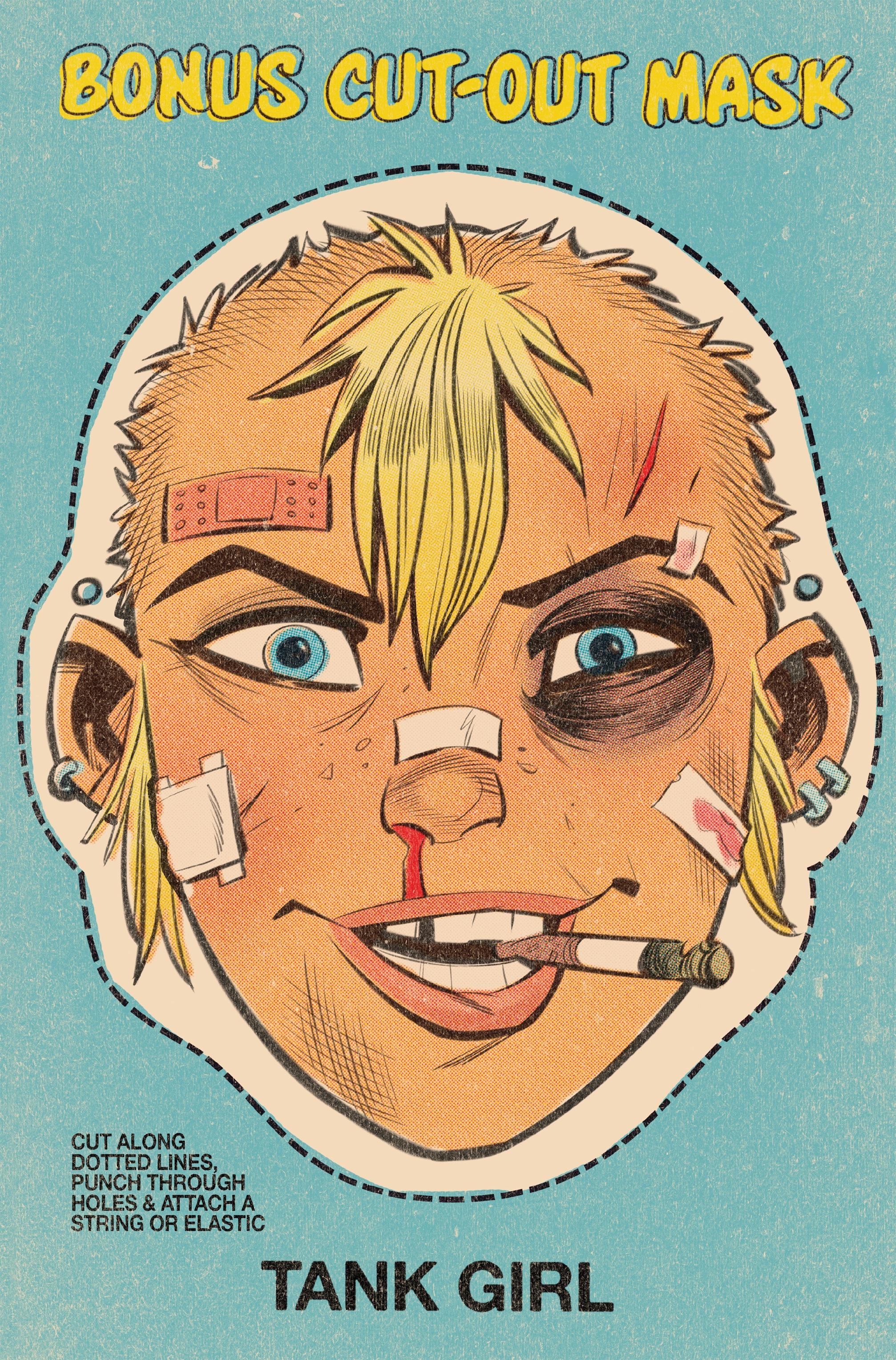 Read online Tank Girl: World War Tank Girl comic -  Issue #3 - 8