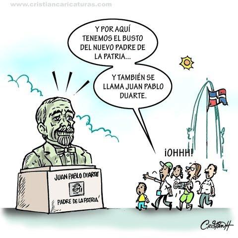 Caricatura: El busto