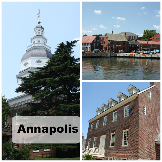 Afternoon in historic Annapolis, Maryland