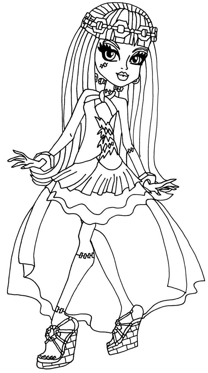 Disegni Da Colorare Gratis Monster High.Disegni Da Colorare Mosteraig Bambine Coloradisegni