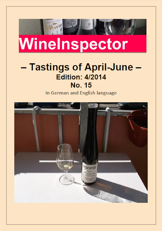 WineInspector Magazine April to June Edition