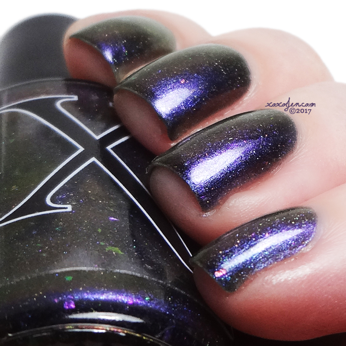 xoxoJen's swatch of Baroness X Ghost of a Space Cowboy