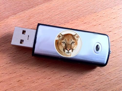 Mac OS X mountain lion USB encryption