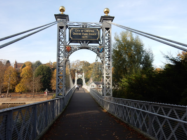 Queen´s Park Bridge, Chester, Midlands, Reino Unido, Elisa N, Blog de Viajes, Lifestyle, Travel
