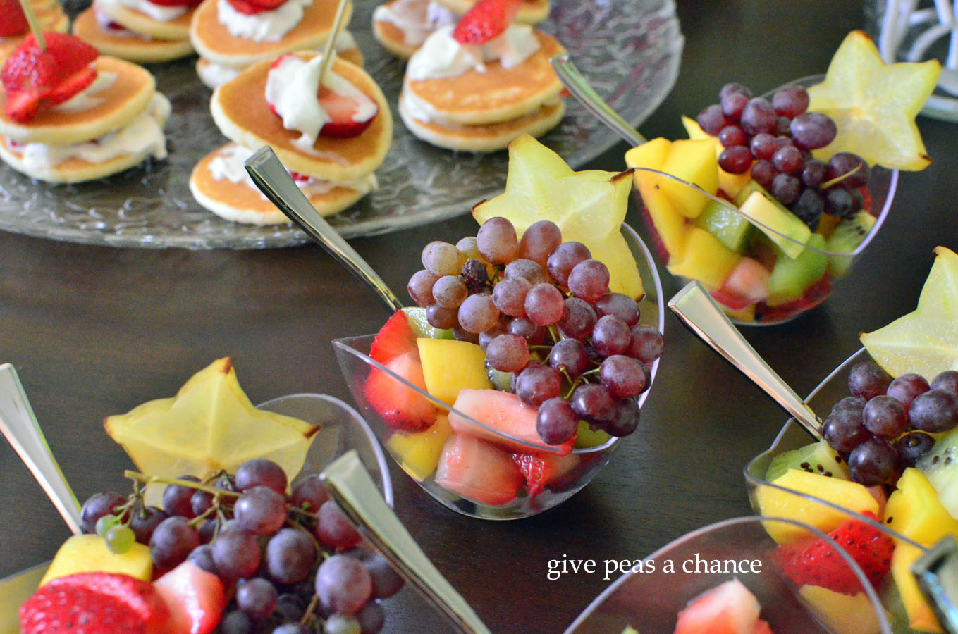 Spa Themed Party Food Ideas