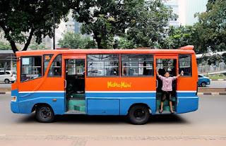 Liburan Ke Jakarta Naik Metromini
