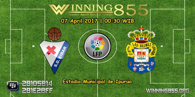 Prediksi Skor Eibar vs Las Palmas 07 April 2017