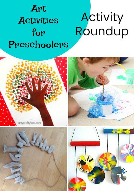 Art activities for preschoolers.