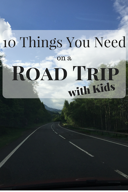 10 Things You Need on a Road Trip with Kids