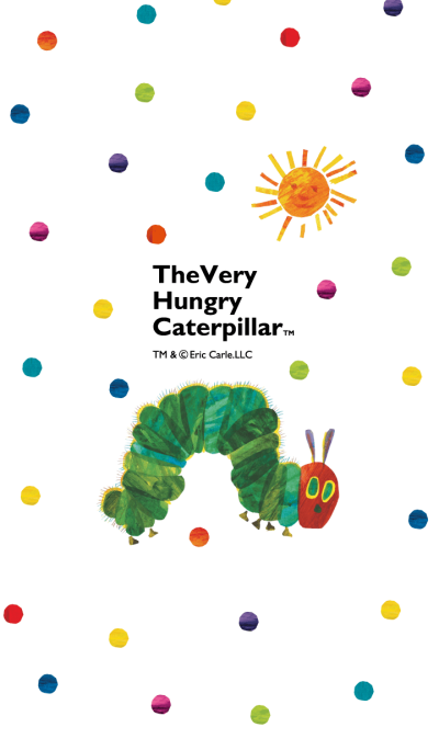 THE VERY HUNGRY CATERPILLAR loves to eat
